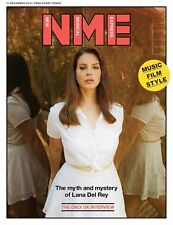 Honeymoon LANA DEL REY Photo Cover interview UK NME MAGAZINE DECEMBER 2015