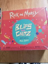 Unopened  Funko Pop! Rick and Morty - Blips and Chitz GameStop Exclusive Box.