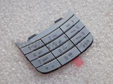 Original Nokia 6600i Slide T9 Tastatur | Keypad | Keymat Silber Silver NEU