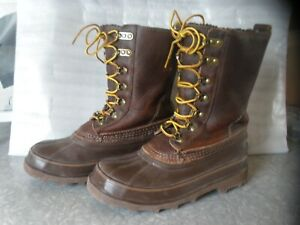 GOT BOOTS ? GET THESE,  DULUTH, WORN ONCE