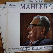 SAX 5281/82 Mahler Symphony No. 9 / Klemperer / NPO E/R 2 LP set