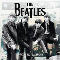 Official The Beatles 2021 Calendar - Square Wall Format Calendar