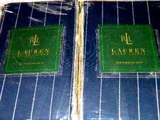 2pc Ralph Lauren Worth Avenue Blazer Stripe Standard Pillow Shams