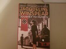 Maisie Dobbs: Journey to Munich 12 by Jacqueline Winspear (2016, Hardcover)