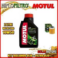 KIT TAGLIANDO 2LT OLIO MOTUL 5100 10W50 KTM 690 Enduro R 1st Oil Filter 690CC 20