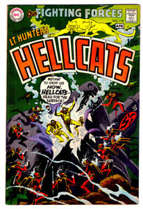 OUR FIGHTING FORCES #118 in VF+ grade 1968 DC WAR comic LT. Hunter's HELLCATS