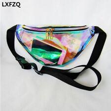 New Fashion Fanny Waist Pack Women's Handbag Laser Purse Translucent Reflective