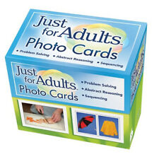 Pro-ed LinguiSystems Just for Adults 360 Photo Cards Problem Solving Sequencing