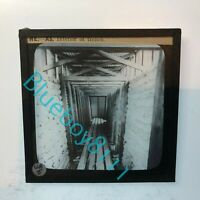 WW2 Home Front ARP Wardens Instruction Glass Slide Interior Of A Trench