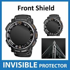 Casio Protrek Prw 2500 Protector De Pantalla Invisible Escudo-DELANTERO Grado Militar