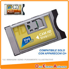 CAM TIVUSAT SmarCam Tivù Sat Hd 4K - per TIVUSAT CI+ (modulo SENZA CARTA)