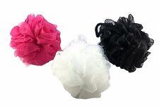 6 Pack BEST Shower Sponge 50 gram Large Loofah Bath Black White Pink Mesh Scrub