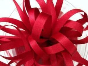 Double Faced Satin Ribbon Berisfords Pillar Box Red Colour 250 15