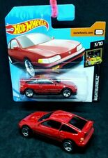 Hot Wheels  '88 Honda CR-X in Red, HW Nightburnurz 3/10. Short Card 2019 + car