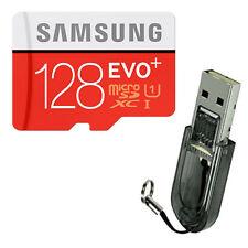 SAMSUNG 128GB Class10 UHS Micro SD Micro SDXC MicroSDXC Card 80MB/s EVO PLUS +R2