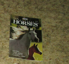 Breyer JAH Magazine back issue March/April 2001 obstacle driving, Davy crockett