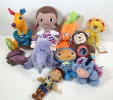 Collection of Cuddly Soft Toys Stuffed Toys Teddy Bears Disney Lamaze Fisher P.