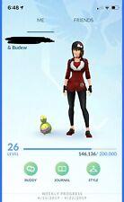 Pokemon Go Account with shiny budew,shiny pinsir