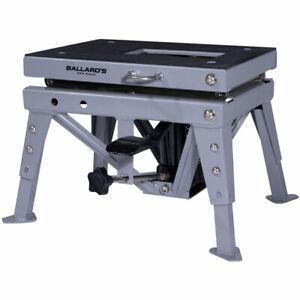 Ballards MX Grey Hydraulic Scissor Off Road Workshop Lift Stand