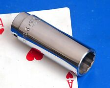 "MAC Tool 3/8"" drive SAE Fractional 11/16"" Deep 12-point Chrome Socket wrench NEW"