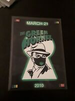 GREEN HORNET PROMO CARD P1 1/1000 Trading Card Museum non sports limited print
