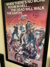 Dawn Of The Dead 1978 Original Poster Book Signed By George A Romeo And Others