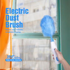 360° Electric Motorized Dirt Dust Feather Cleaning Brush Blinds Vacuum Cleaner