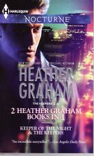 Heather Graham Keeper Of The Night & The Keepers Nocturne  Romance  Pbk NEW