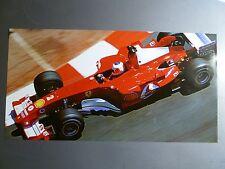 2004 Ferrari Formula 1 Monaco GP Rubens Barrichello Print Picture Poster RARE!!