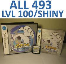 Pokemon Soul Silver Game Unlocked All 493 Shiny Event DS DSi 3DS XL SoulSilver