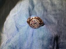 John Hardy Kali Sterling Silver Round with Blue Topaz, Iolite Ring