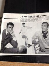 G5-1 Ephemera 1969 Picture Football John Holsgrove Telecast Model Agency Wolves