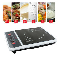 1300W Electric Induction Cooktop Portable Kitchen Ceramic Cooker Cook Top