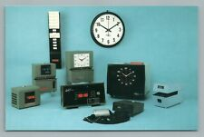 Lathem Time Recorder Co. ATLANTA Georgia—Vintage Clock Advertising 1970s