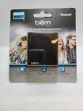 Bem Wireless Bluetooth Mini Mobile Wireless Speaker Mini-Portable Black
