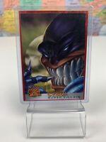 SHIPS SAME DAY 1995 Fleer X-Men Trading Card #63 Cyber