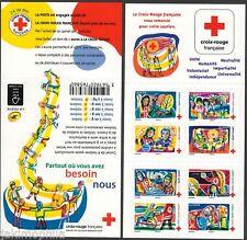 Carnet BC 1422 Croix Rouge de 2017 neuf ** non plié LUXE