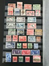Stamps British Empire Good Selection of 80+ Stamps Mint & Used