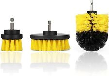 Drill Brush Attachment Set of 3 Power Scrubber Brush Cleaning Kit All Purpose fo