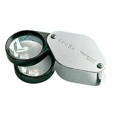 ESCHENBACH Inspection folding metal magnifier magnification Loupe 1187 NEW