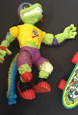 Tmnt Mondo Gecko 1990 with skateboard ex. condition