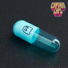 100 x Empty Gelatin Gelatine Capsules Size 3 Joined - Ghosts