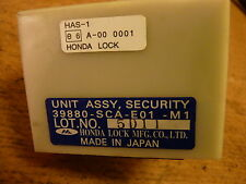 HONDA FRV 05-09 CRV MK2 02-07 SECURITY LOCK ECU 39880-SCA-E01-M1 39880SCAE01M1