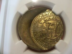 PERU 1965 1 Sol  400th Anniversary Lima Mint   MINT ERROR