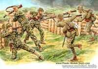 Master Box 3544 - 1/35 - Bloody Atoll.Hand-to-hand combat Tarawa1943