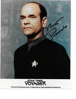 "Robert Picardo Autograph Hand Signed ""Dr."" STAR TREK Voyager RARE Photo W/COA"