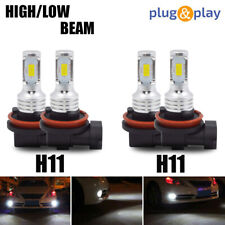 4XH9+H11 LED Headlight Kits Bulbs For Chevrolet Malibu 2008-2012 LTZ Hi/Lo Beam