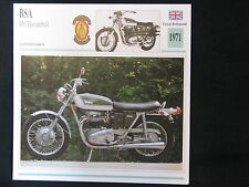 Card 1971 BSA 650 Thunderbolt (Nederlands) (CC)