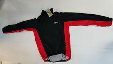 Giubbino bici Ciegi Windtex winter invernale L rosso nero bike jacket