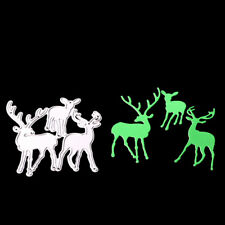 Christmas Deer Metal Cutting Dies For Scrapbooking DIY Album Paper Cards DecoeCj